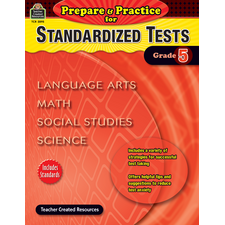 Prepare & Practice for Standardized Tests Grade 5