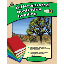 Differentiated Nonfiction Reading Grade 3