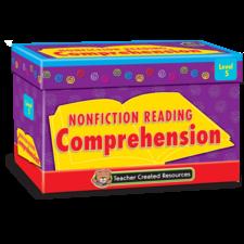 Nonfiction Reading Comprehension Cards Level 5