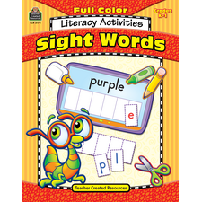 Full-Color Literacy Activities: Sight Words