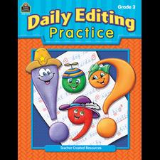 Daily Editing Practice, Grade 3