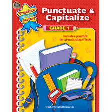 Punctuate & Capitalize Grade 1