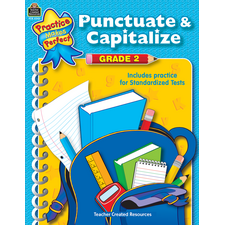 Punctuate & Capitalize Grade 2