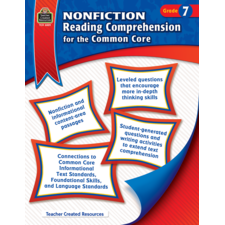 Nonfiction Reading Comprehension for the Common Core Grade 7