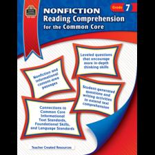 Nonfiction Reading Comprehension for the Common Core Grade 7