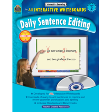 Interactive Learning: Daily Sentence Editing Grade 2
