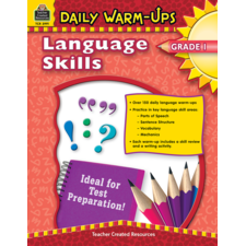 Daily Warm-Ups: Language Skills Grade 1