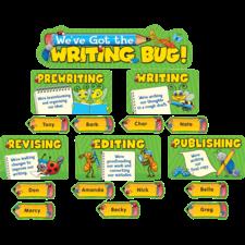 We've Got the Writing Bug Mini Bulletin Board