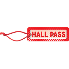 Polka Dots Hall Pass