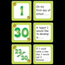 September Polka Dots Calendar Days/Story Starters
