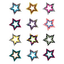 Fancy Stars Mini Accents