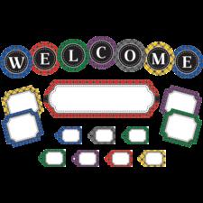 Plaid Welcome Mini Bulletin Board