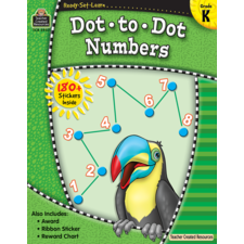 Ready-Set-Learn: Dot-to-Dot Numbers Grade K