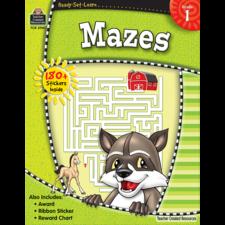Ready-Set-Learn: Mazes Grade 1