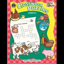 Start to Finish: Crossword Puzzles Grade 2-3