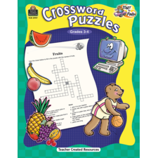 Start to Finish: Crossword Puzzles Grade 3-4