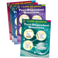 Close Reading Using Text-Dependent Questions Set
