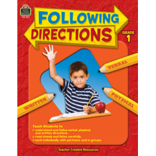 Following Directions Grade 1