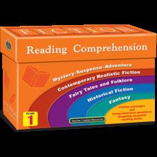 Fiction Reading Comprehension Cards Grade 1