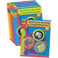 Nonfiction Reading Comprehension Set (6 books)