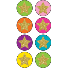 Confetti Stars Mini Stickers