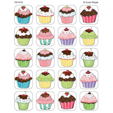 Cupcakes Stickers from Susan Winget