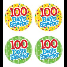 100 Days Smarter Wear' Em Badges
