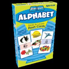 Alphabet Slide & Learn Flash Cards
