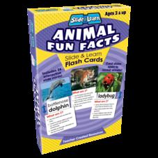 Animal Fun Facts Slide & Learn Flash Cards