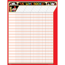 We Love Books! Incentive Chart from Mary Engelbreit
