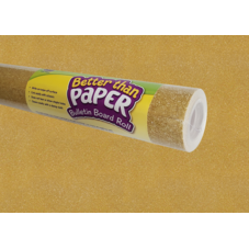 Gold Shimmer Better Than Paper Bulletin Board Roll