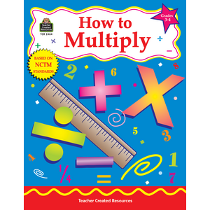 TCR2484 How to Multiply, Grades 3-4 Image