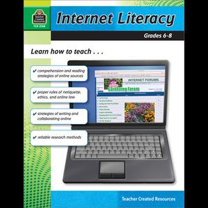 TCR2768 Internet Literacy Grade 6-8 Image
