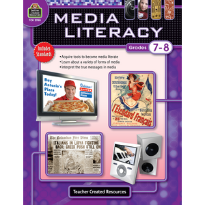 TCR2780 Media Literacy Grade 7-8 Image