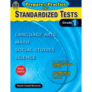 TCR2891 Prepare & Practice for Standardized Tests Grade 1 Image