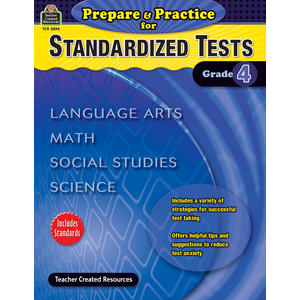 TCR2894 Prepare & Practice for Standardized Tests Grade 4 Image