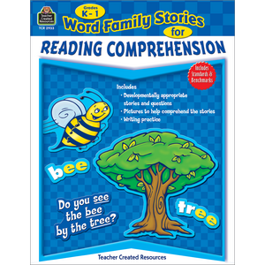 TCR2933 Word Family Stories for Reading Comprehension Grade K-1 Image