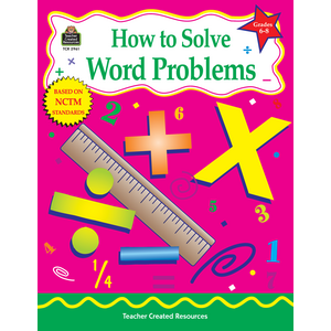TCR2961 How to Solve Word Problems, Grades 6-8 Image