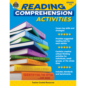 TCR2979 Reading Comprehension Activities Grade 1-2 Image