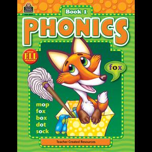 TCR3015 Phonics Book 1 Image