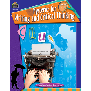 TCR3026 Mysteries for Writing and Critical Thinking Image