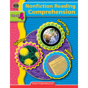 TCR3384 Nonfiction Reading Comprehension Grade 4 Image