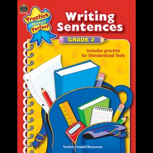 TCR3464 Writing Sentences Grade 2 Image