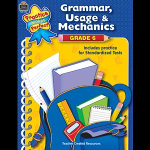 TCR3781 Grammar, Usage & Mechanics Grade 6 Image