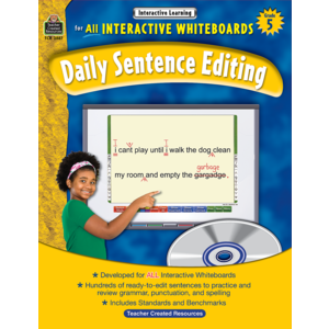 TCR3887 Interactive Learning: Daily Sentence Editing Grade 5 Image