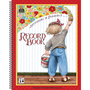 TCR3917 Anything is Possible Record Book from Mary Engelbreit Image