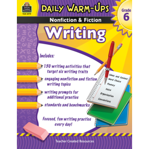 TCR3979 Daily Warm-Ups: Nonfiction & Fiction Writing Grade 6 Image