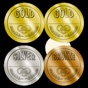 TCR4911 Medals Wear 'Em Badges Image