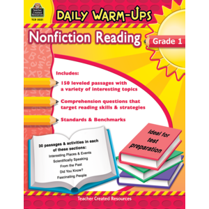 TCR5031 Daily Warm-Ups: Nonfiction Reading Grade 1 Image