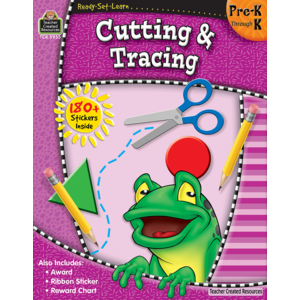 TCR5955 Ready-Set-Learn: Cutting & Tracing PreK-K Image